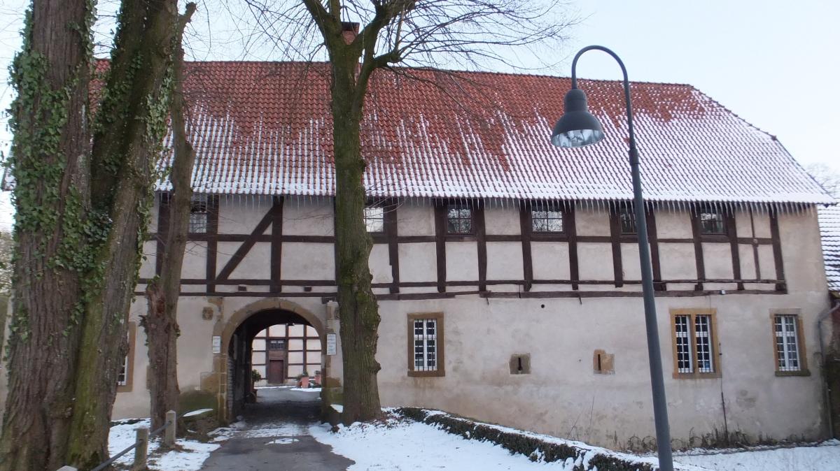 Barnhausen, Haus Brincke, A9 neueWegführung