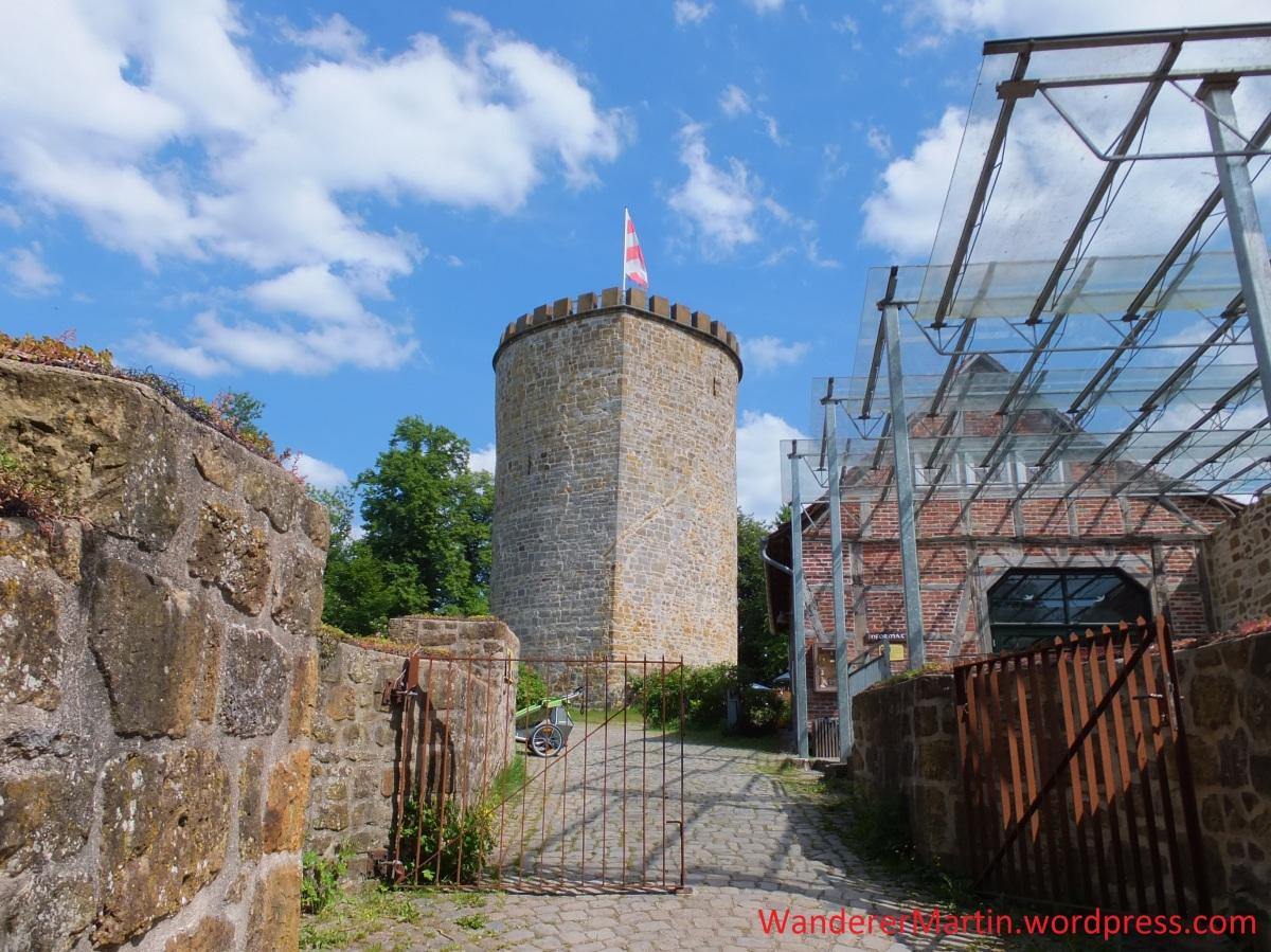 Clever Schlucht, Rund um die BurgRavensberg
