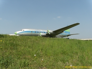 """Das """"Sanicare-Flugzeug"""""""