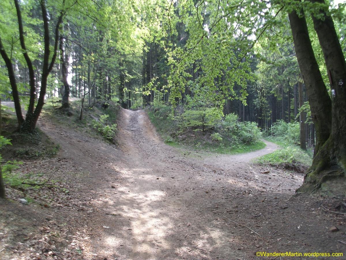"""Stieghorst, Habichtshöhe, =-Weg """"Habichtshöhe – Arends Hof"""" und Rückweg überHermannsweg"""