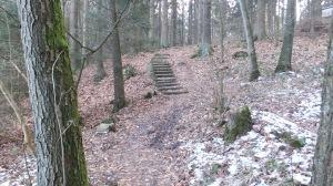 Treppe am Kronensee