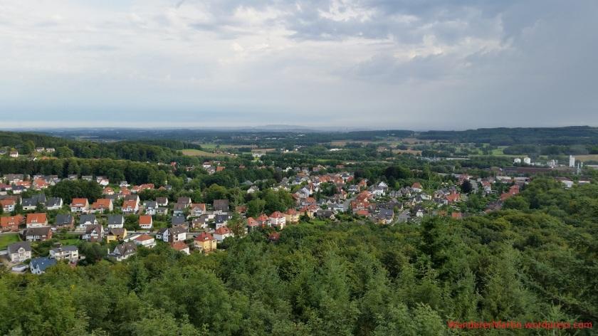 Blick vom Varusturm auf dem Lammersbrink nach Norden