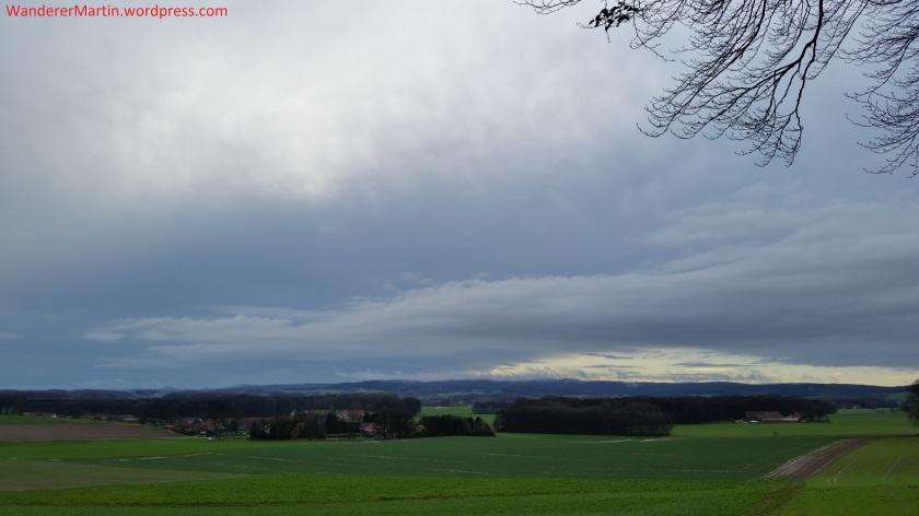 Blick vom Asberg zum Teutoburger wald
