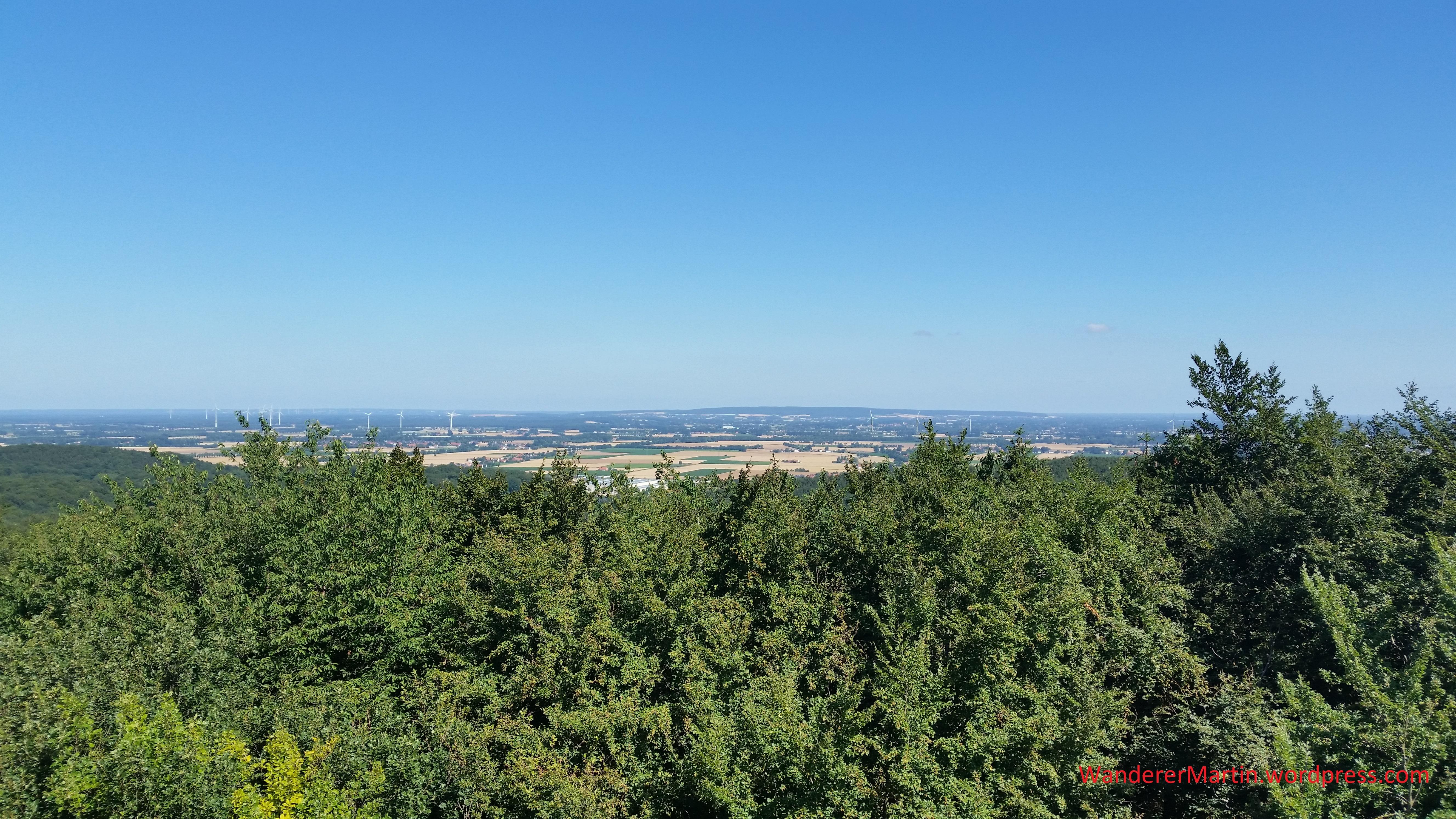 Blick vom Wiehenturm nach Norden 20180708_105636