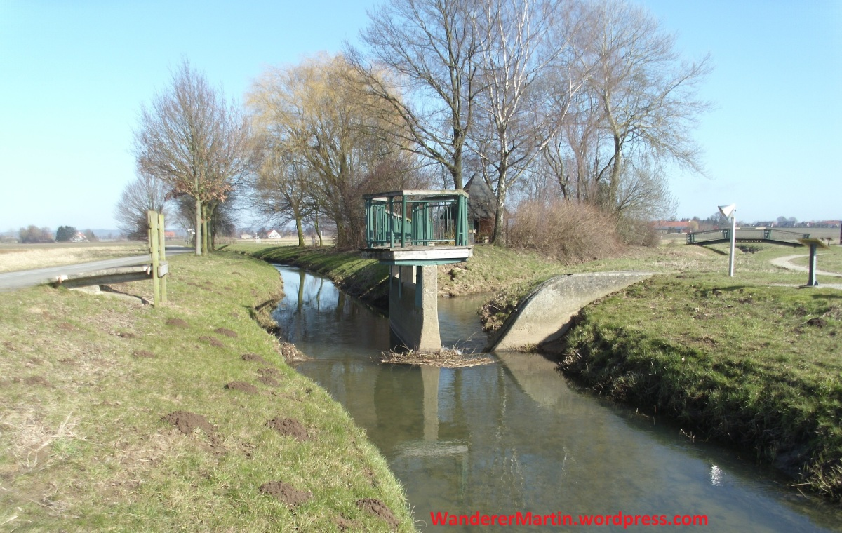 "Gesmold, Bifurkation, Gesmolder Ringweg, Etappe ""Bifurkation – Wiedebrocksheide"""